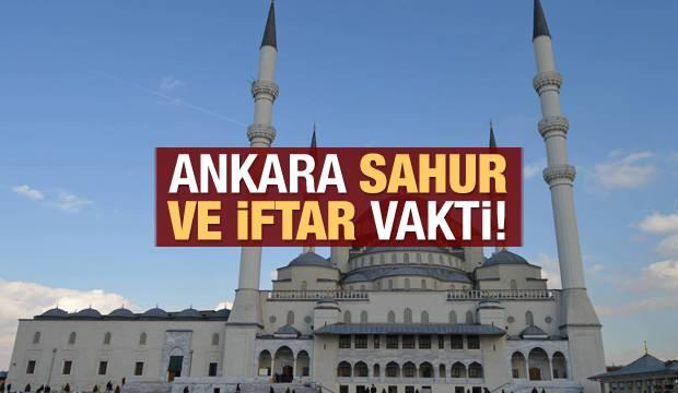 Ankara İmsakiye 2021: Diyanet Ankara sahur saatleri ve iftar vakti