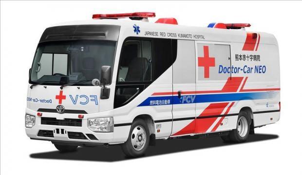 Toyota'dan dünyanın ilk hidrojen yakıt hücreli mobil kliniği