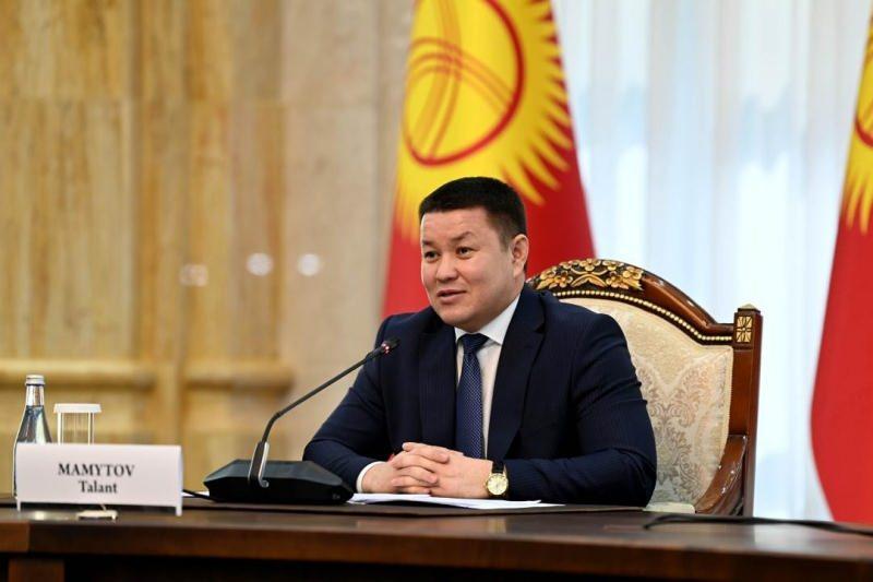 Kırgızistan Meclis Başkanı Talant Mamıtov