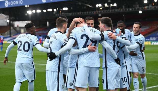 Chelsea, Crystal Palace'ı farklı yendi