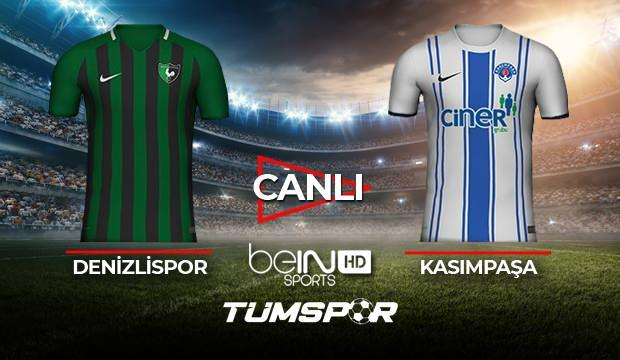 Denizlispor Kasımpaşa maçı canlı izle! BeIN Sports Denizli Paşa maçı canlı skor takip!