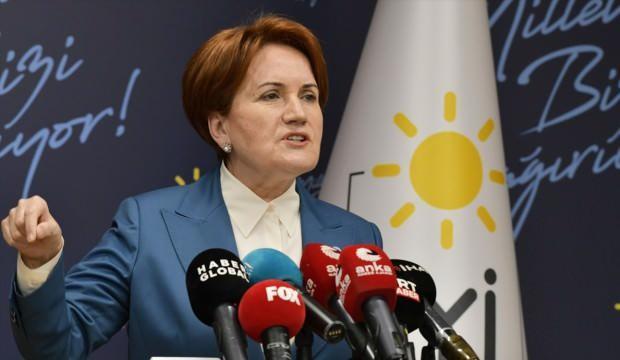 Dün 'zevzeklik' demişti: Akşener'den yeni bildiri açıklaması