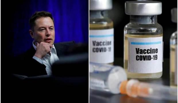 Elon Musk: Kovid-19 aşılarına güveniyorum, bilim yanılmaz
