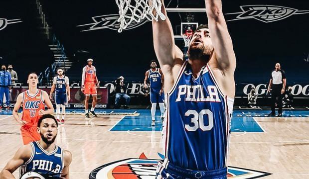 Furkan Korkmaz coştu! Philadelphia kazandı