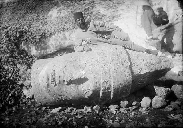 Osman Hamdi Bey'in Adıyaman Arkeoloji Kazısı
