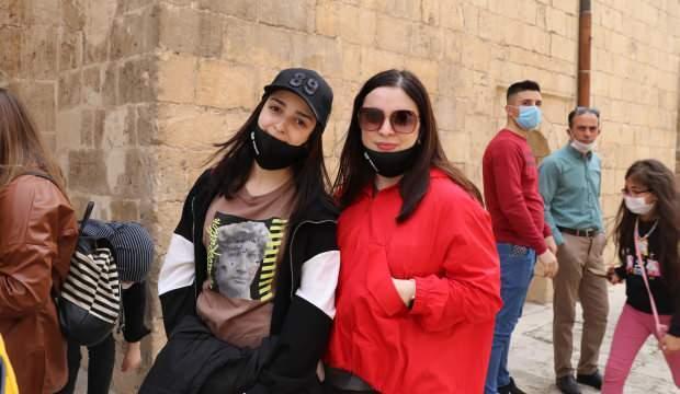 Mardin'e ilk defa geldiler! Kentte büyük heyecan