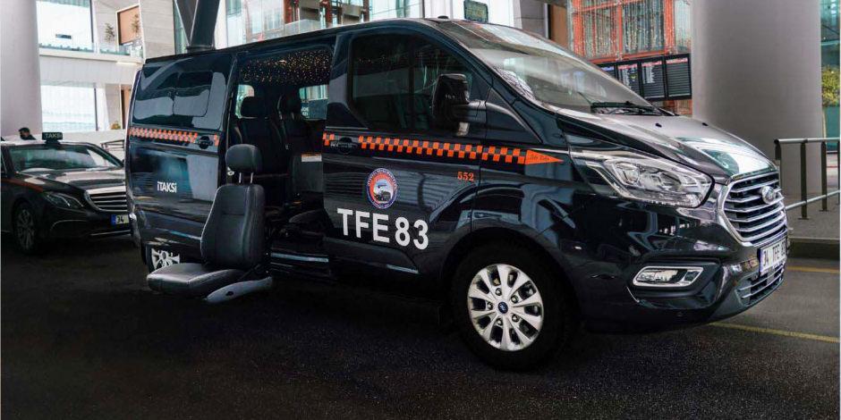 İstanbul Havalimanı'nda engelli yolculara özel taksi