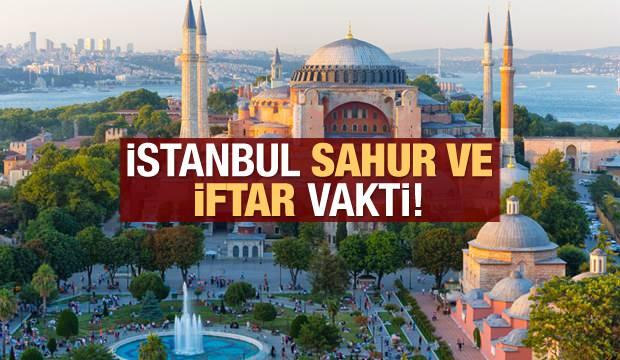 İstanbul İmsakiye 2021 Diyanet İmsakiye sahur saatleri ve iftar vakti