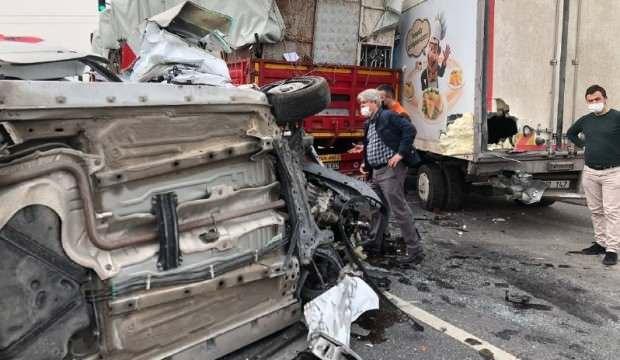 Kayseri'de zincirleme kaza! Yaralılar var