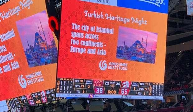 NBA maçında Türk gecesi!