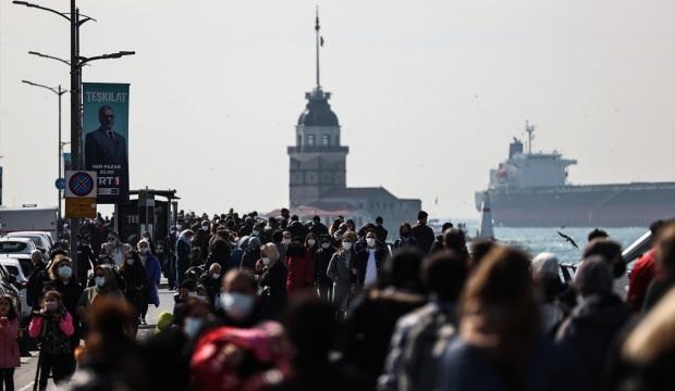 Nisanın ilk haftasında Türkiye'de Kovid-19 vaka sayısı yüzde 34 arttı
