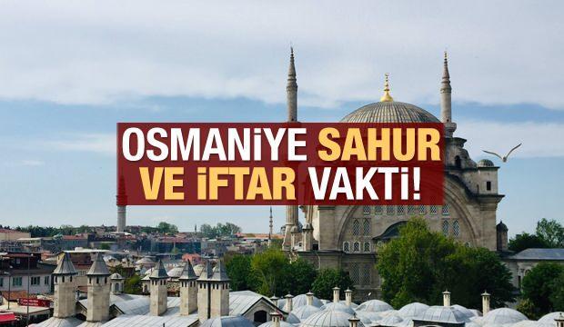 Osmaniye İmsakiye 2021: Diyanet Osmaniye sahur saatleri ve iftar vakti