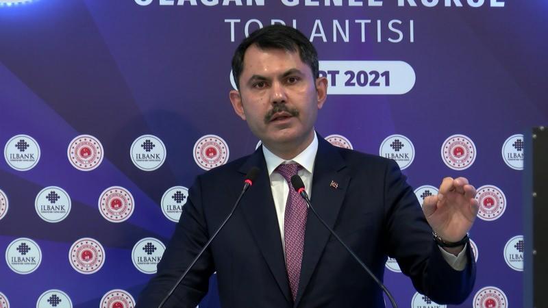 Çevre ve Şehircilik Bakanı Kurum, Kanal İstanbul projesine ilişkin,