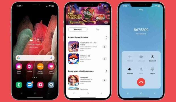 Samsung'dan iPhone'ları Android'e çeviren uygulama: iTest