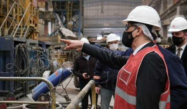 Savunma Sanayi Başkanı Demir'den Ankara 1. OSB'ye ziyaret