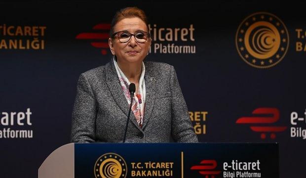 Ticaret Bakanı Pekcan: Türkiye'de e-ticaret hacmi 226,2 milyar liraya yükseldi