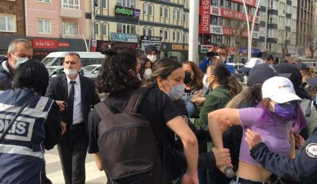 Tokat'ta provokatif eyleme 7 gözaltı