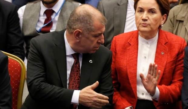 Ümit Özdağ'dan Meral Akşener'e 'zevzeklik' yanıtı