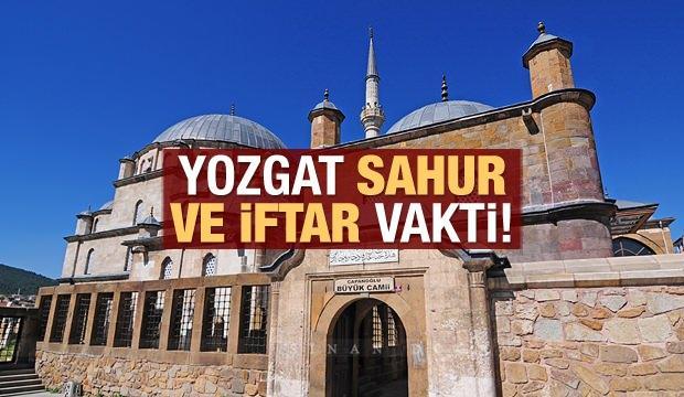 Yozgat İmsakiye 2021: Diyanet Yozgat sahur saatleri ve iftar vakti