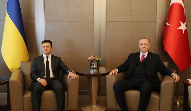 Zelenskiy-Erdoğan görüşmesi başladı