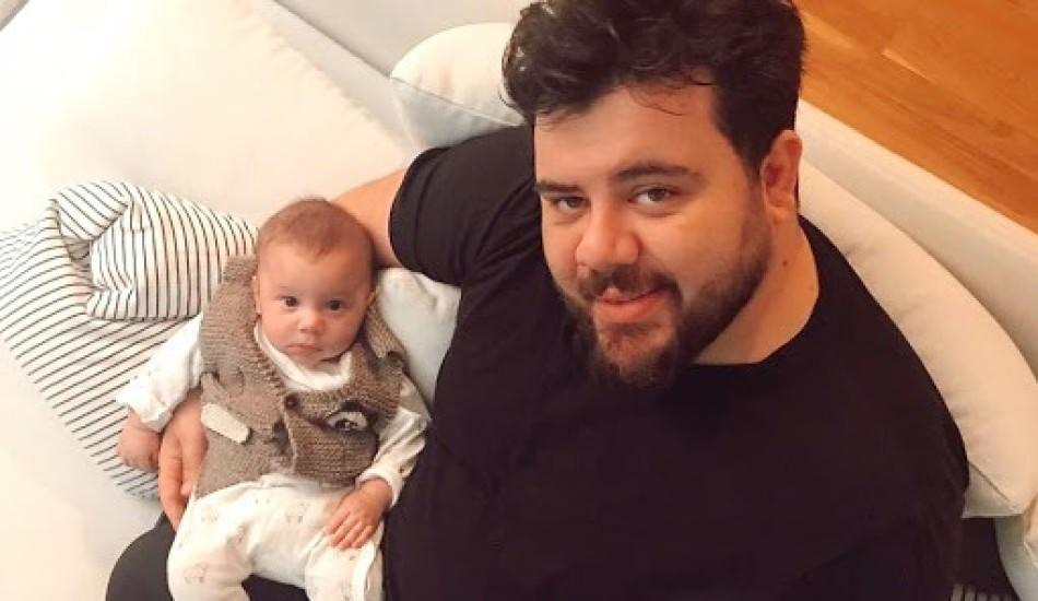 Eser Yenenler oğlu Mete'nin doğum videosunu paylaştı!