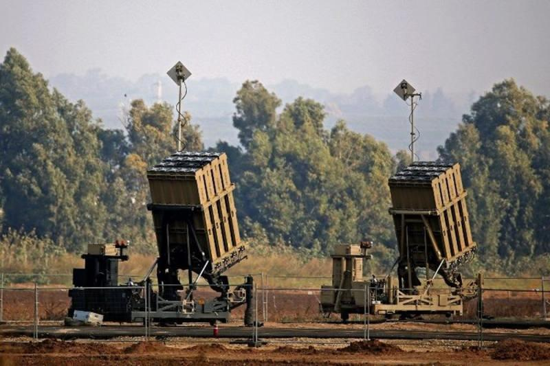 NTV İsrail'in Demir Kubbe savunma sistemi.