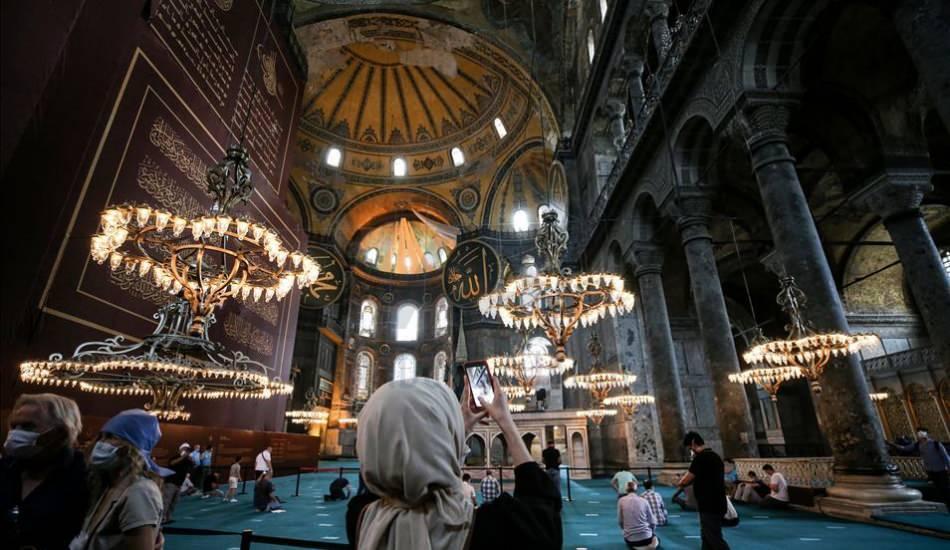 Ayasofya-i Kebir Camii Şerifi'nde 87 yıl sonra Ramazan coşkusu