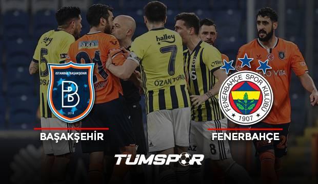 Başakşehir Fenerbahçe maçı geniş özeti ve golleri (BeIN Sports) Kanarya zirve takibini sürdürdü