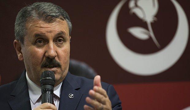 BBP Genel Başkanı Destici: Terörün partisine dünyanın hiçbir yerinde hukuk müsaade etmez