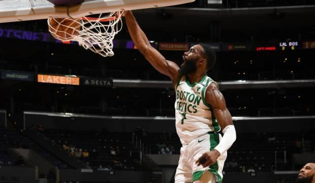 Boston Celtics, Jaylen Brown'un 40 sayısıyla kazandı