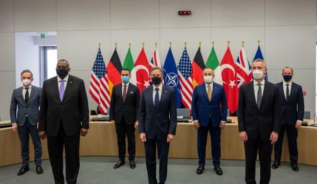 Bakan Çavuşoğlu, NATO Konseyi Toplantısına katıldı