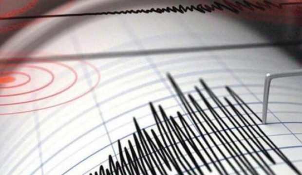 Ege Denizi'nde 4,8 büyüklüğünde deprem