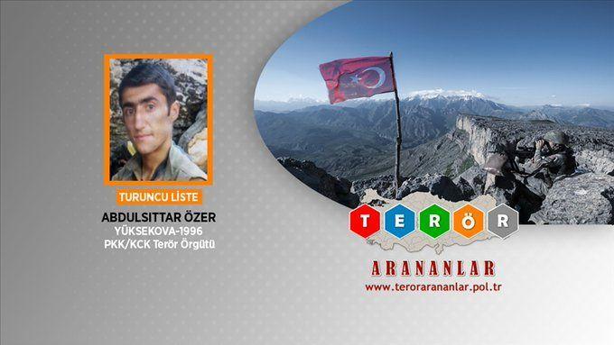 Dara Zagros kod adlı Abdulsittar Özer öldürüldü