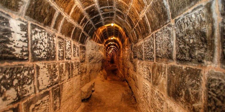 Gaziantep Kalesi'nin altındaki tüneller de turizme açılacak