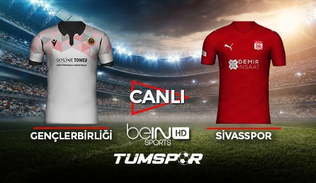 Gençlerbirliği Sivasspor maçı canlı izle! BeIN Sports Gençler Sivas maçı canlı skor takip!
