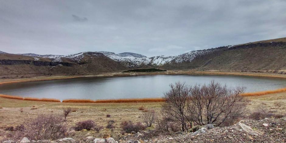 'Kapadokya'nın kalbi' Narlı Göl ilkbaharda başka güzel