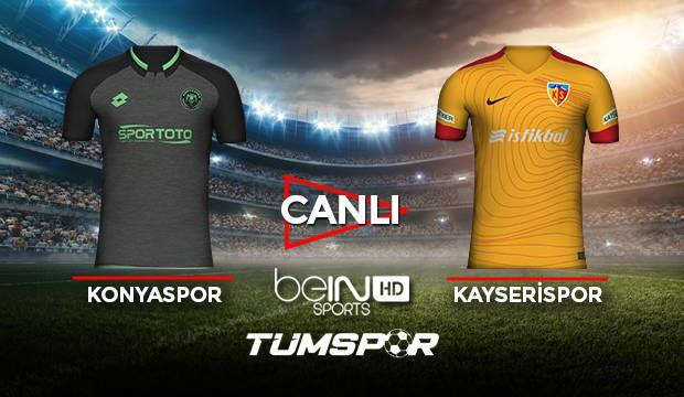 Konyaspor Kayserispor maçı canlı izle! BeIN Sports Konya Kayseri maçı canlı skor takip!