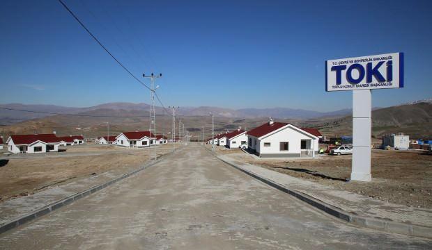 Köy tipi konutlar iki ay içinde teslim edilecek
