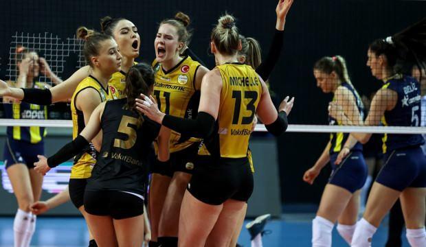 Fenerbahçe maça çıkamadı VakıfBank şampiyon oldu!