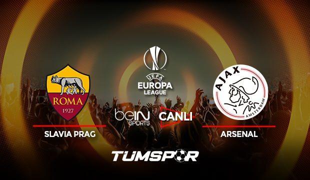 Roma Ajax maçı canlı izle! BeIN Sports UEFA Avrupa Ligi Roma Ajax  canlı skor takip!