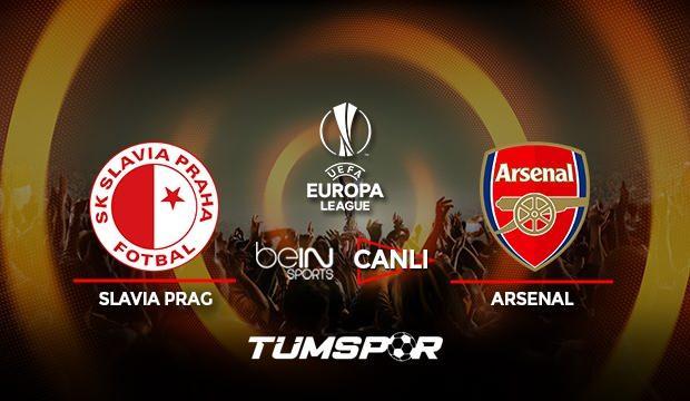 Slavia Prag Arsenal maçı canlı izle! BeIN Sports UEFA Avrupa Ligi Slavia Prag Arsenal canlı!