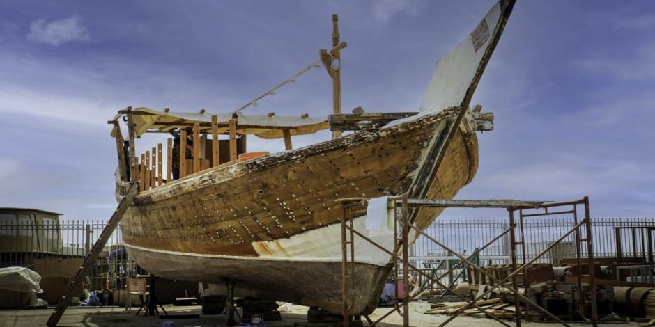 Tarihi Arap yelkenlileri nefes kesen Doha manzaraları için hazırlanıyor