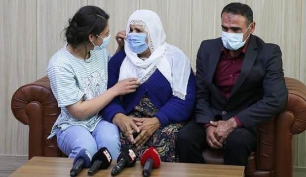 Teslim olan terörist 6 yıl sonra annesiyle buluştu