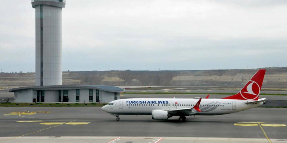 THY'nin Boeing 737-MAX'i yıllar sonra ilk seferini yaptı