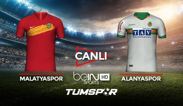 Yeni Malatyaspor Alanyaspor maçı canlı izle! BeIN Sports Malatya Alanya maçı canlı skor takip!