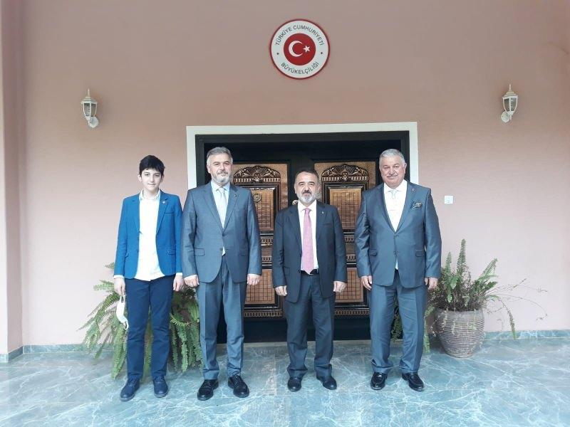 Yeniden Refah Partisi Sudan Büyükelçiliği ziyareti.