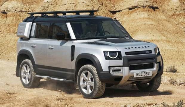 Land Rover Defender modeline en iyi tasarımlı SUV ödülü