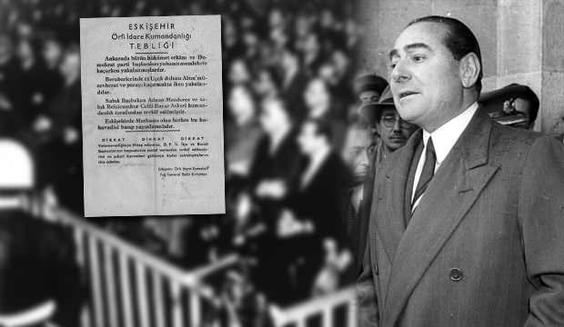 Adnan Menderes'i idama götüren yalan: 12 uçak dolusu altın