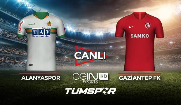 Alanyaspor Gaziantep FK maçı canlı izle! BeIN Sports Alanya Antep maçı canlı skor takip!