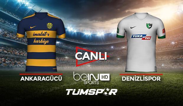 Ankaragücü Denizlispor maçı canlı izle! BeIN Sports Ankara Denizli maçı canlı skor takip!